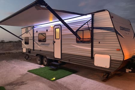 Furnished RV on 12 Acres - Monahans, TX