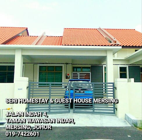 4 BEDROOM 3 AC HOMESTAY NEARBY MERSING TOWN