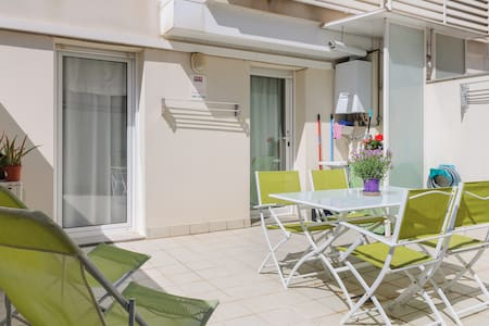 Centric, relax zone,private terrace - Girona