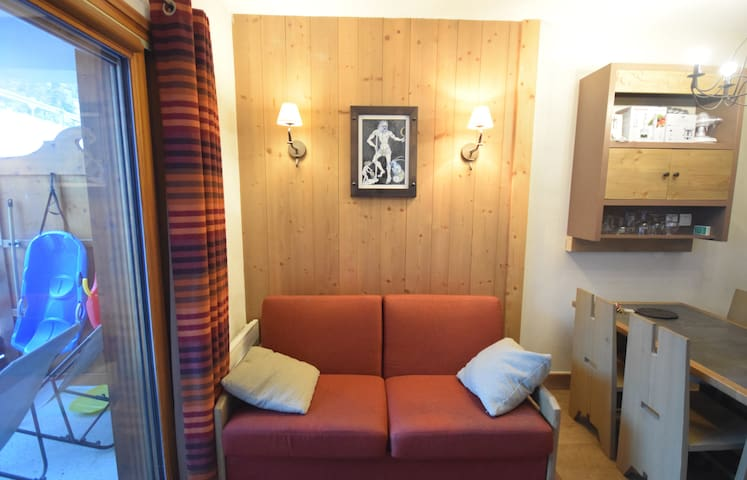 5Apartment 4* - Pool - Sauna - Wifi - Fully equipped - At the ski slopes
