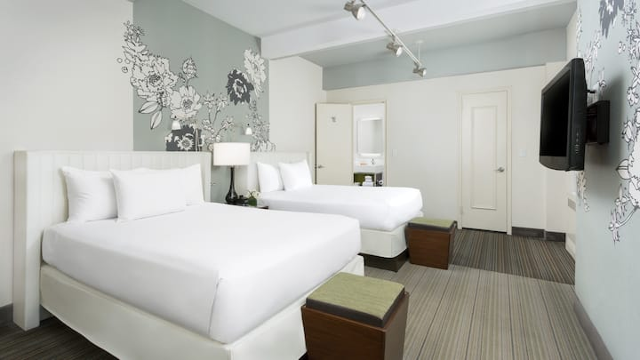 Two Beds in Private Room near Times Square and MSG