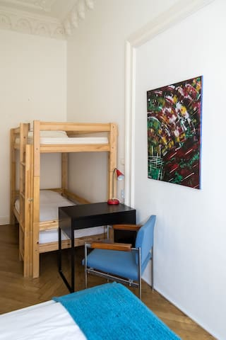 1 bed in 4 beds-dorm