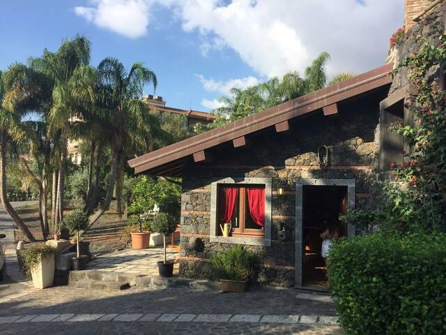 Etna and sea lovely Casa Bacilico'
