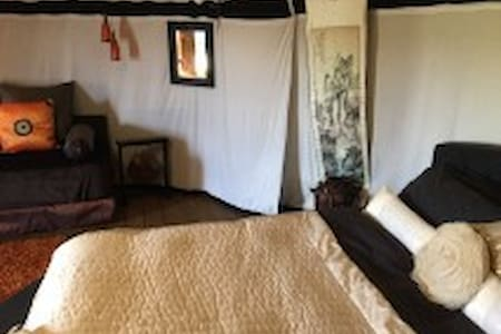 Oriental Yurt at Lincoln yurts - Lincolnshire