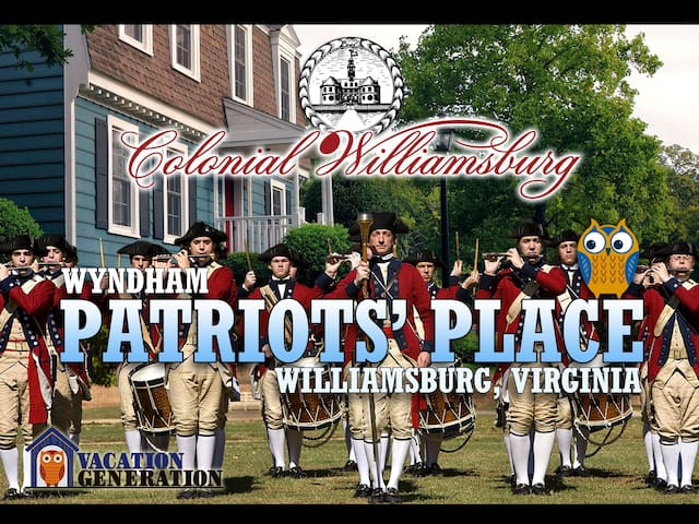 Patriots Place ツ 1 Bedroom ツ Wyndham Condo - Williamsburg - Lägenhet