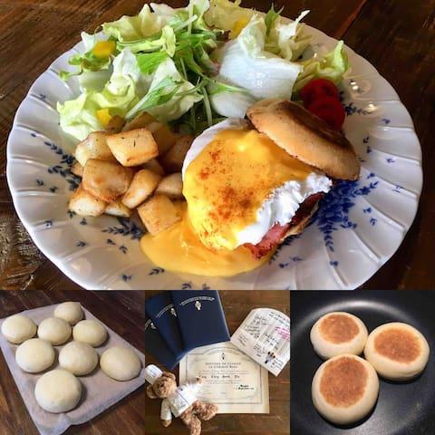5 starts Fresh-made Breakfast(Seaview RoomB 4ppl)