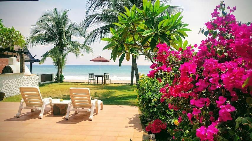Beachfront Private Home