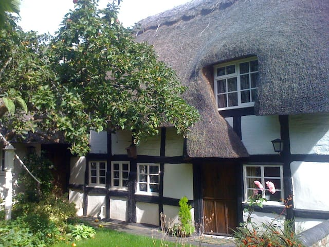 Large Double Room in Tudor Cottage - Kempsey - Casa