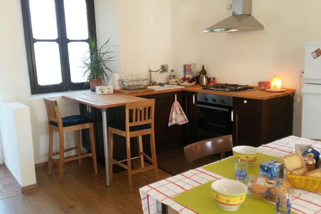 Cucina ampia