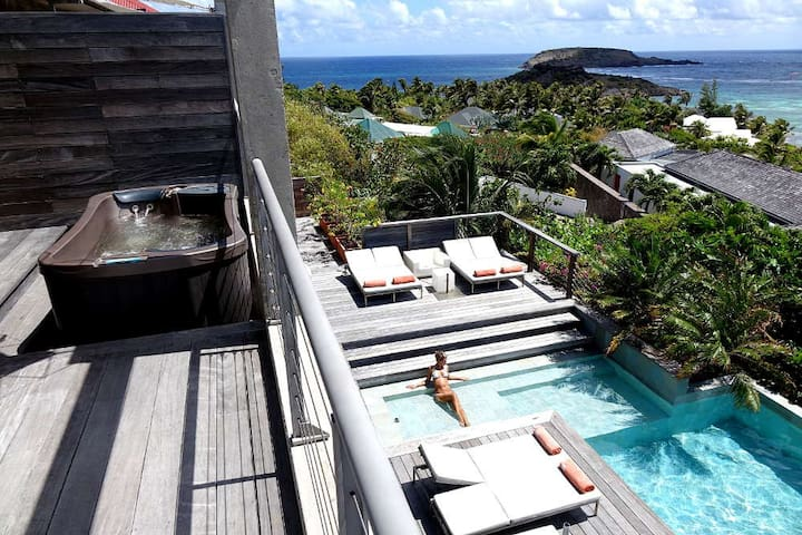 Luxury Lagoon Suite St Barts - BL - Misafir suiti