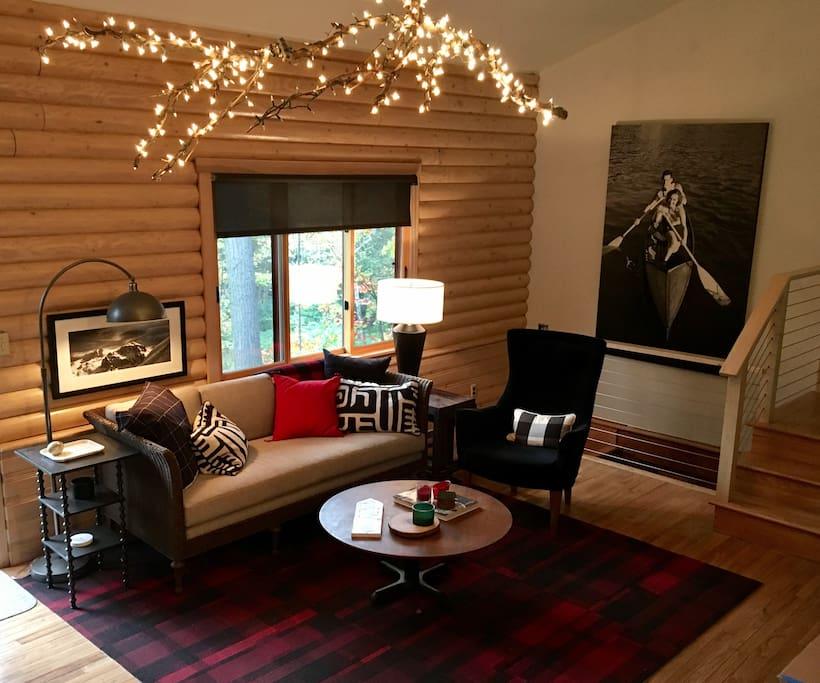 Cozy Living Space!
