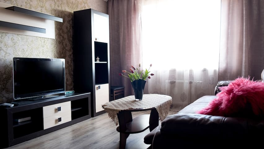 NEW 2-BEDROOM APARTMENT IN THE CENTER OF GRODNO - Hrodna
