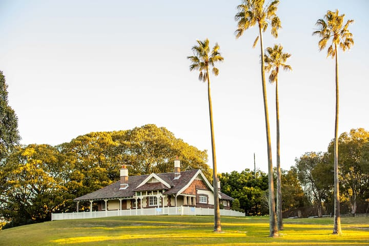 The Rangers' Residence, Centennial Park