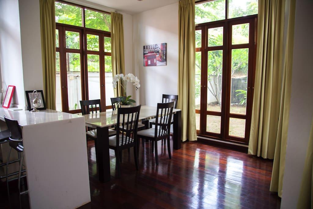Downstairs Dining/Kitchen