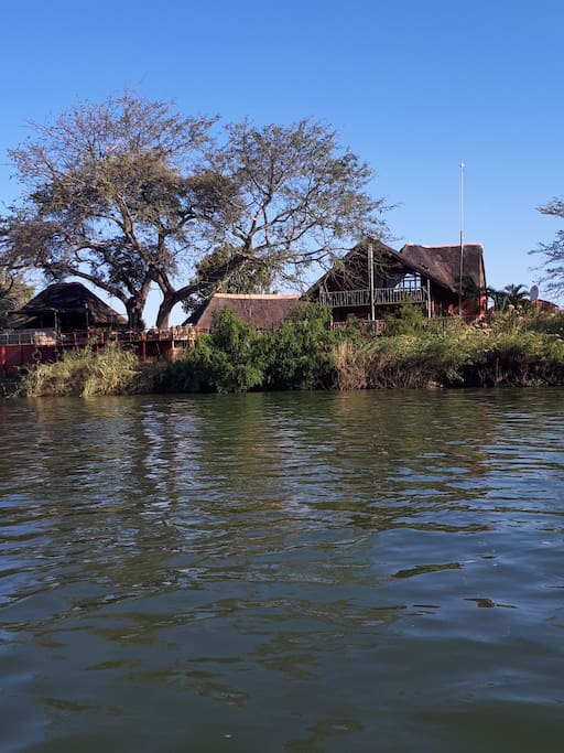 The House from the river side
