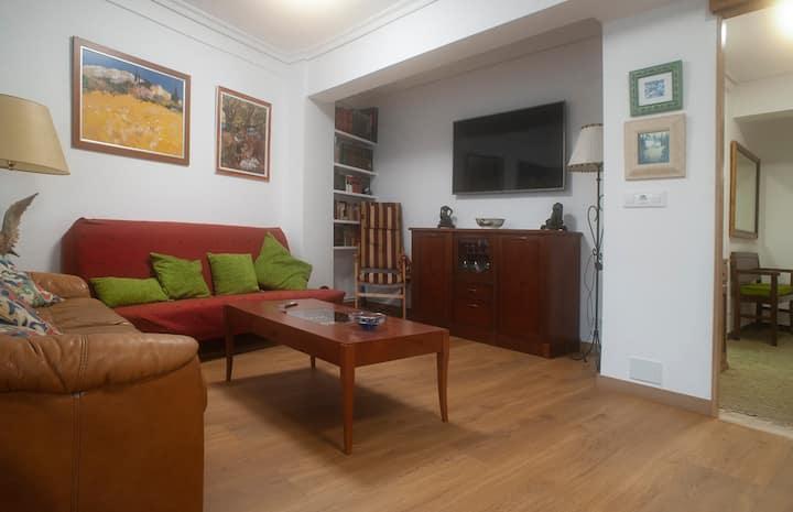 Comfortable apartment in Vigo with terrace