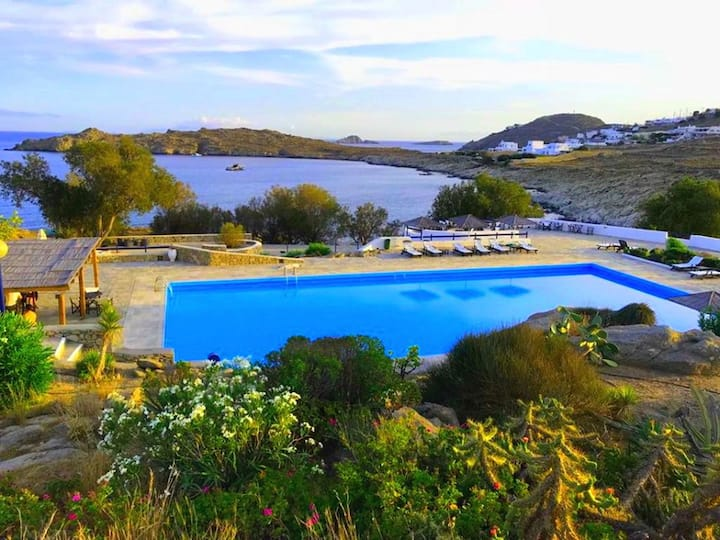 Apollon House by the Sea with Private Pool & Beach