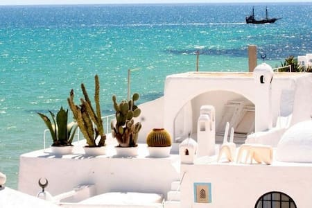 sea side Holiday rental in Hammamet center Tunisia