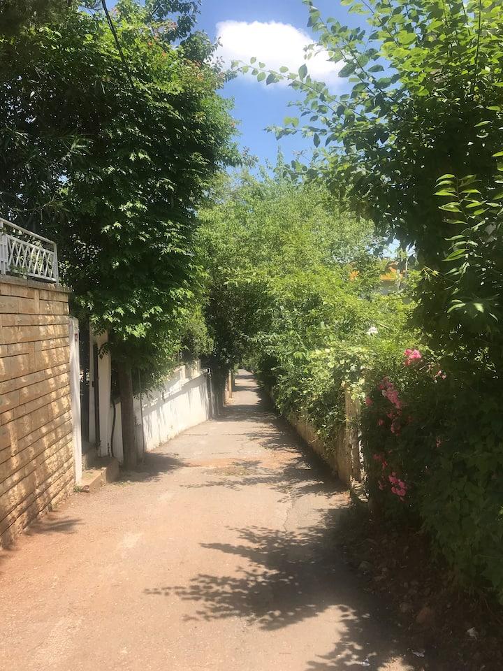 Prince Islands Burgazada Apartment private garden