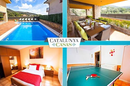 Villa Sant Iscle in Costa Maresme, only 15 minutes to the beach! - Barcelona Region - Villa
