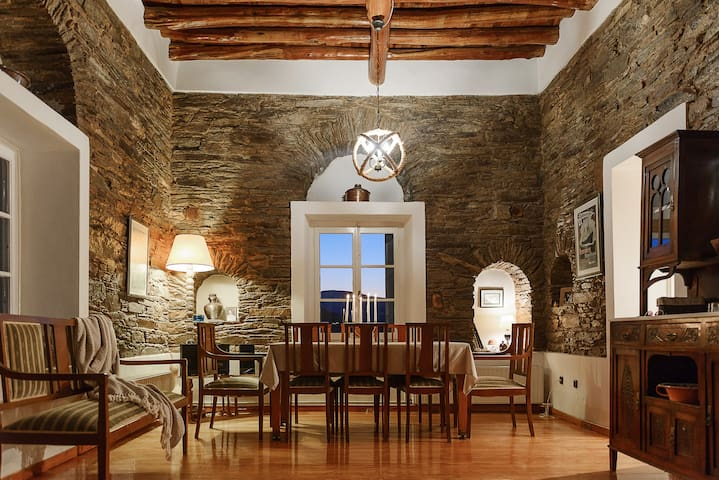 """Memory"" Apt in Stone Tower 1690 • Andros Island"