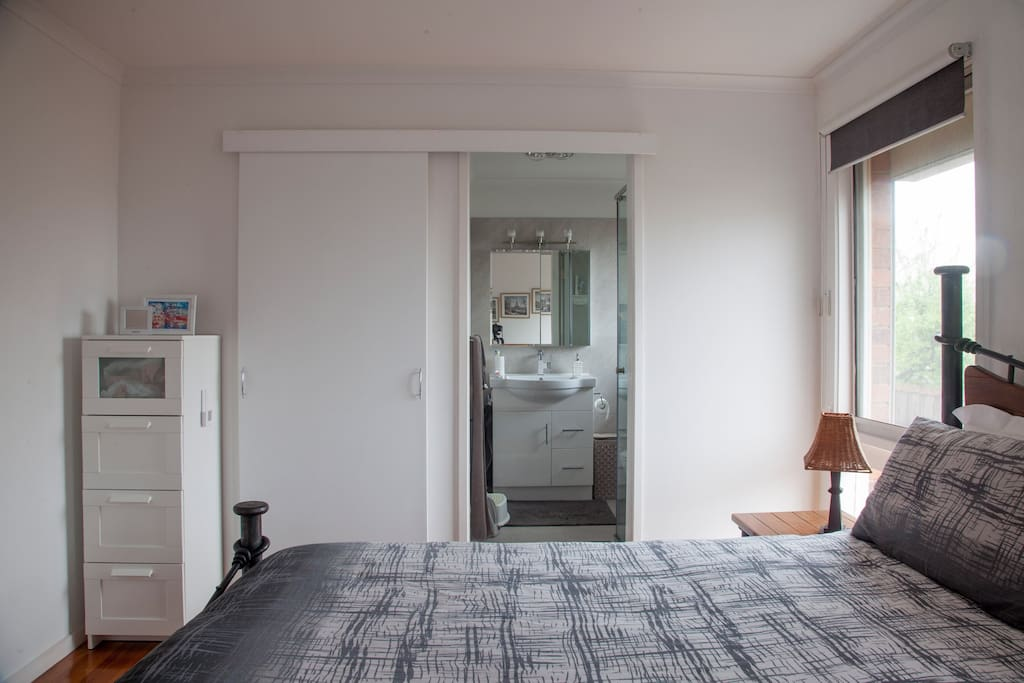 Master bedroom, ensuite, walk-in robe. Next door to private living room space