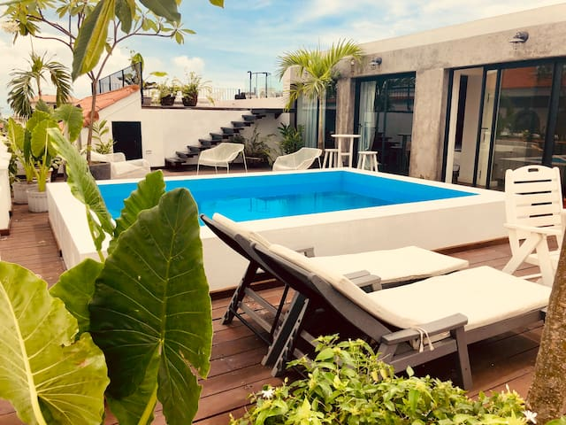 ❤ of Casco Viejo - Private Penthouse, Roof Terrace