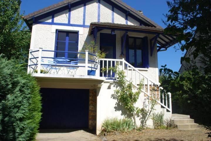 La petite Maison Bleue sur l'Isle - Vaux-sur-Seine