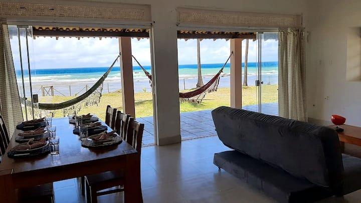 Casa Frente Mar C Piscinas Naturais -Praia  Piruí