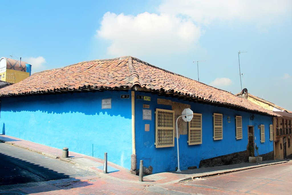Near by, you can find many of the most important cultural activities: several universities; the Cultural Center Gilberto Alzate Avendaño (right across the street); the Colon Theatre, one of the oldest in Latin America; the Colonial Museum; the Opera Hotel; the Bolívar Plaza,the Cathedral; the Senate; the Mayor's Office; the Nariño's Palace, the Presidencial home and office; the San Carlos Palace, where Bolívar lived; the Luis Arango Library and Cultural Center, one of the largest in South America; the Botero Museum; various colonial churches; the García Márquez Cultural Center, the largest bookstore in town; cafés, restaurants, bakeries with freash bread all day and small grocery shops that offer fruit, vegetables and basic household needs.