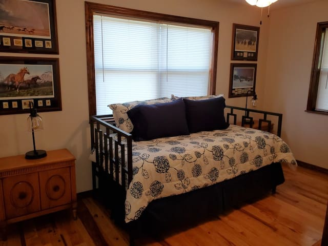 Bedroom with trundle bed. Sleeps two.