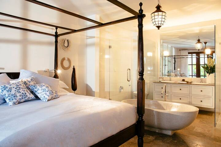 bedroom and ensuite