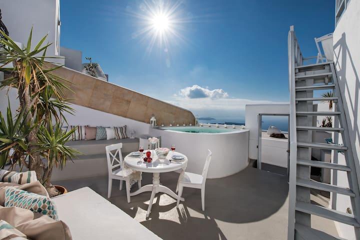 Saint George exclusive master villa up to 6 pax - Imerovigli - วิลล่า