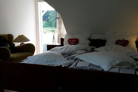 Fyn,double room No 7, Gislev, Funen - Gislev - Bed & Breakfast