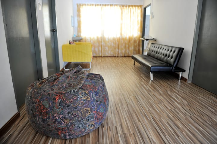 3 Bedder. BungaRaya Guesthouse Sg. Petani Kedah.