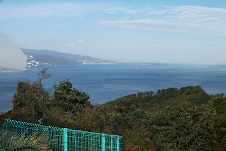 Hot spring with the house & Overlooking the sea. - Atami-shi