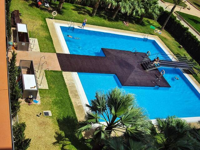 TRANQUILIDAD Y PISCINA EN ALMERIA. Wifi y Parking. - Almería - Apartment