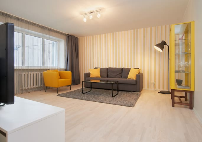Bright and well lighted living room