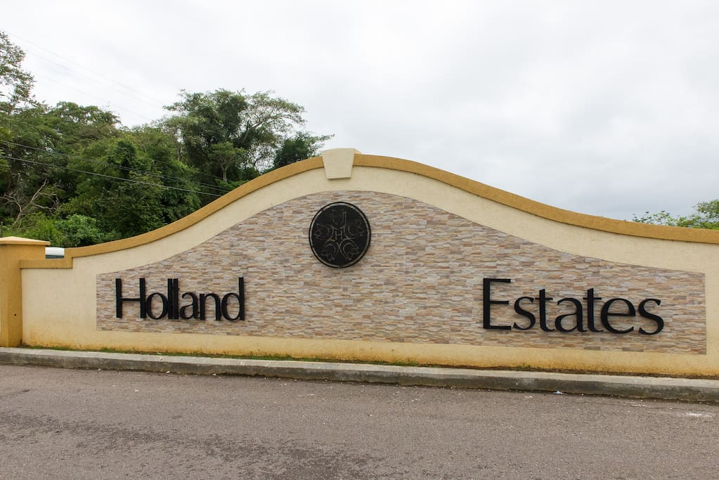 Entrance to Estates