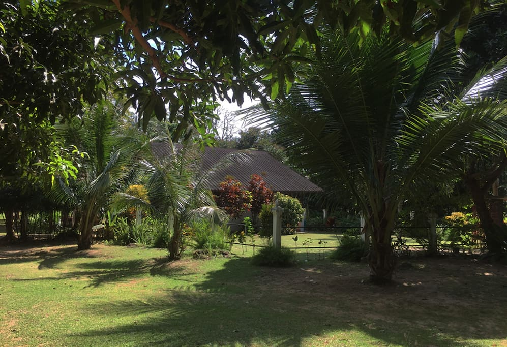 Surrounding grounds and gardens