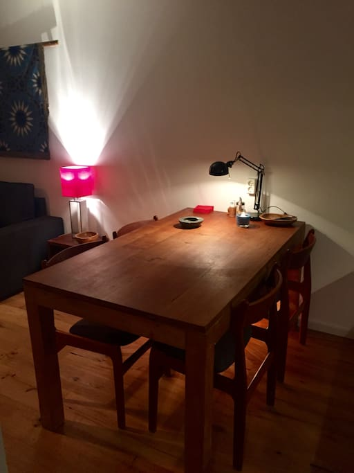 dining table/workplace