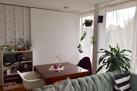 Lovely apartment near to Condesa with balcony - Mexico City