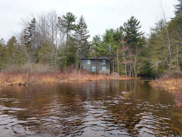 Somes pond Cottage --  Private lakefront retreat