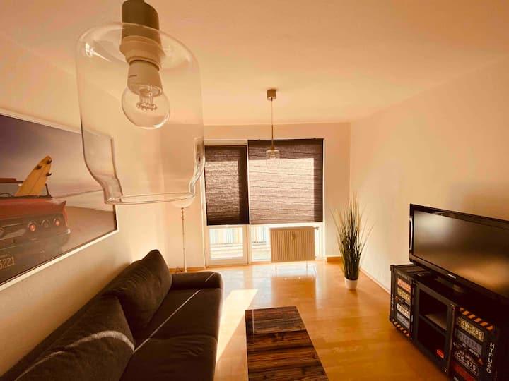 Schöne 3 Zimmerwohnung mit Balkon im Grünen