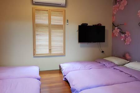 櫻花和室5人房