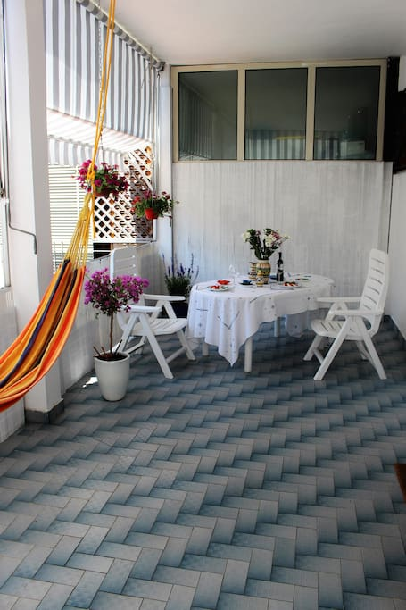 relax  on the terrace - relax in terrazza