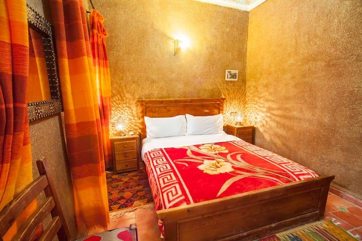 Tafoyte room at Riad Soleil du Monde