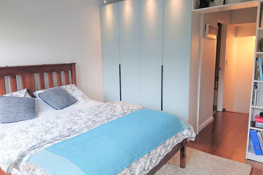 Newly renovated spacious main bedroom