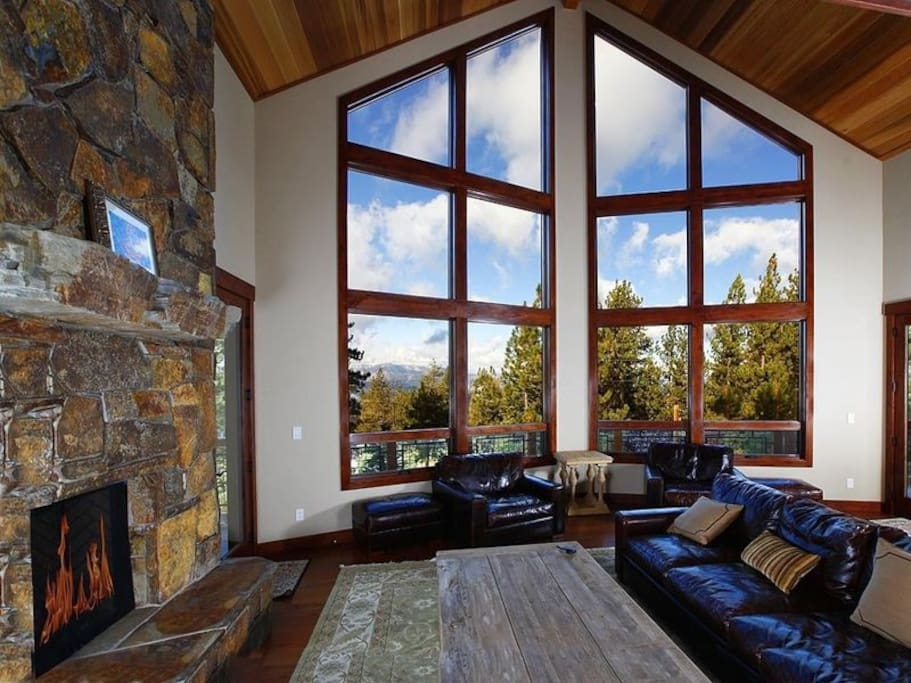 The View with Fireplace and Comfort