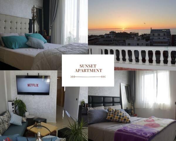 ☆ Cozy Ocean View Apartment +Terrace +Breakfast ☆